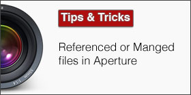 Referenced or Managed files in Aperture