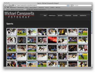 New sports images added to Portfolio - Michael Campanella Photography