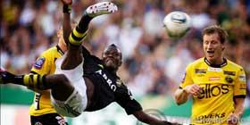 AIK's Ibrahim Bangura