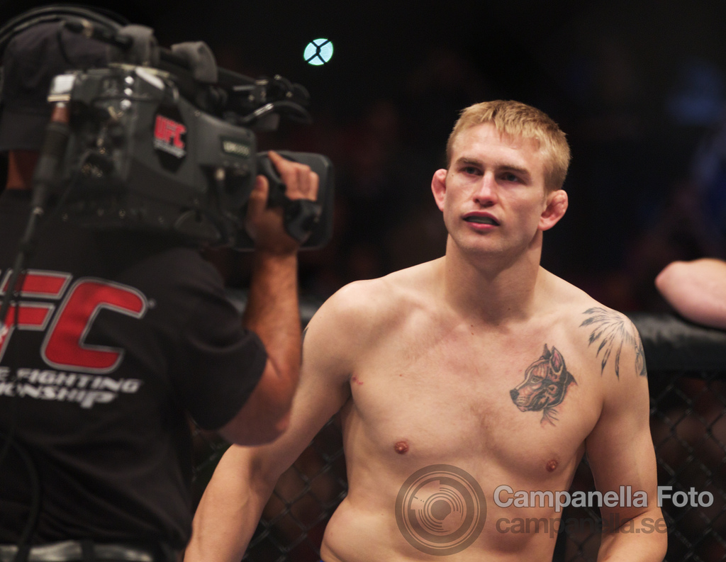 Alexander Gustafsson Vs. Thiago Silva - UFC Fuel - Stockholm, Sweden - 1 of 12