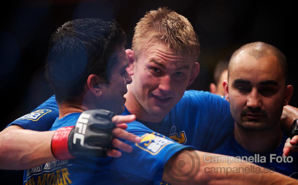 Alexander Gustafsson Vs. Thiago Silva - UFC Fuel - Stockholm, Sweden - 11 of 12