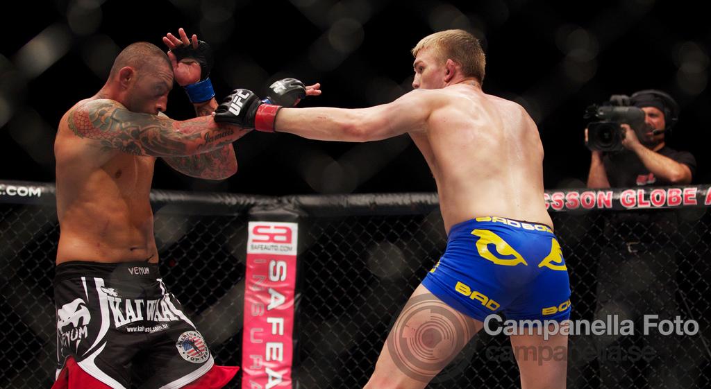 Alexander Gustafsson Vs. Thiago Silva - UFC Fuel - Stockholm, Sweden - 4 of 12