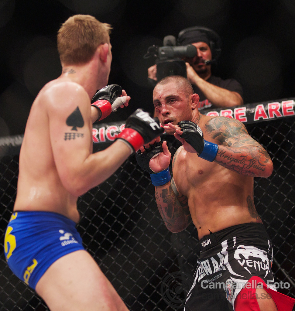 Alexander Gustafsson Vs. Thiago Silva - UFC Fuel - Stockholm, Sweden - 7 of 12