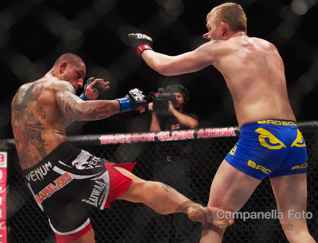 Alexander Gustafsson Vs. Thiago Silva - UFC Fuel - Stockholm, Sweden - 8 of 12