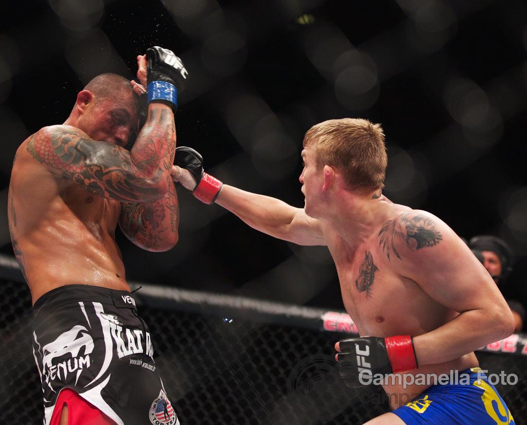 Alexander Gustafsson Vs. Thiago Silva - UFC Fuel - Stockholm, Sweden - 9 of 12