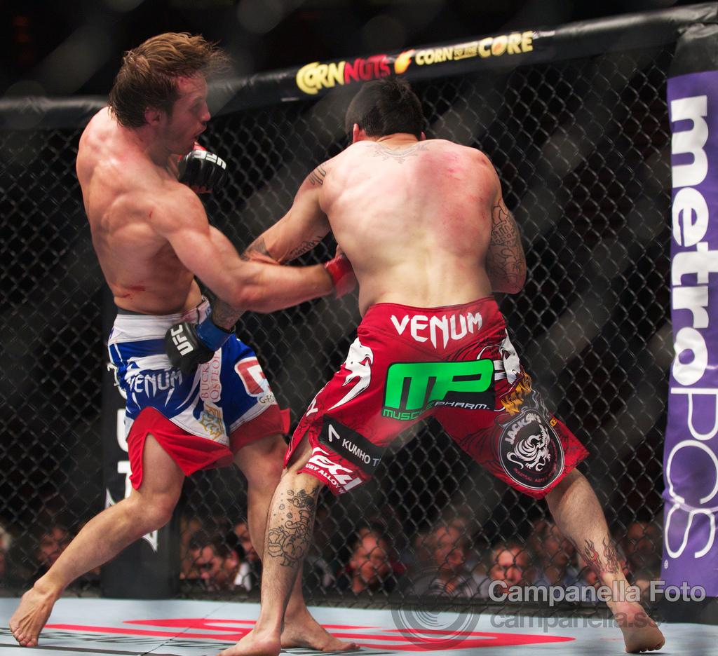 Brad Pickett Vs. Damacio Page - UFC Fuel - Stockholm, Sweden - 1 of 2