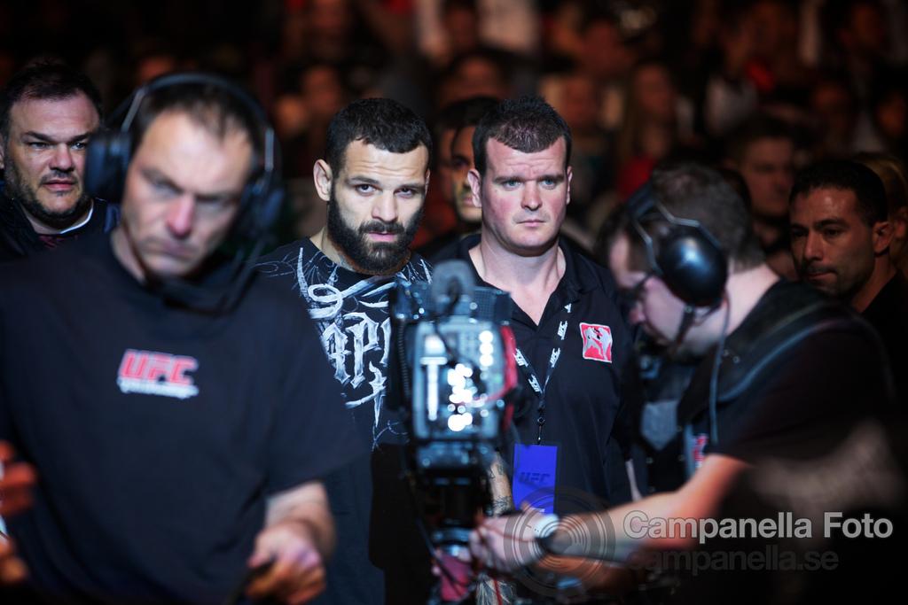 Brian Stann Vs. Alessio Sakara - UFC Fuel - Stockholm, Sweden - 1 of 6