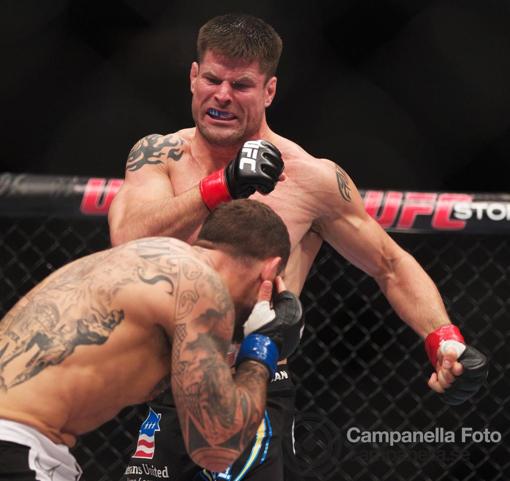Brian Stann Vs. Alessio Sakara - UFC Fuel - Stockholm, Sweden - 3 of 6