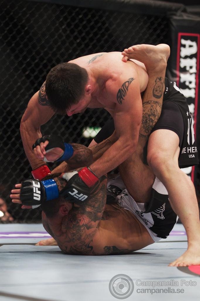 Brian Stann Vs. Alessio Sakara - UFC Fuel - Stockholm, Sweden - 5 of 6