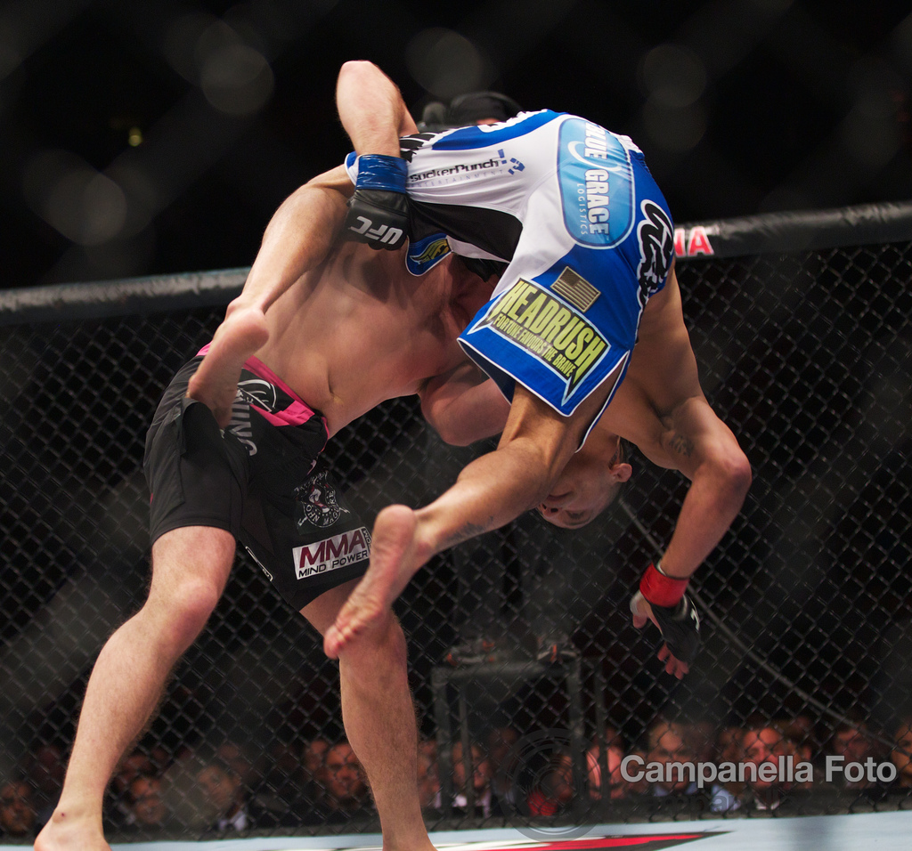 DeMarques Johnson Vs. John Maquire - UFC Fuel - Stockholm, Sweden