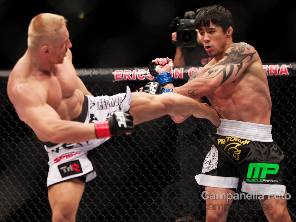 Dennis Siver Vs. Diego Nunes - UFC Fuel - Stockholm, Sweden - 1 of 6
