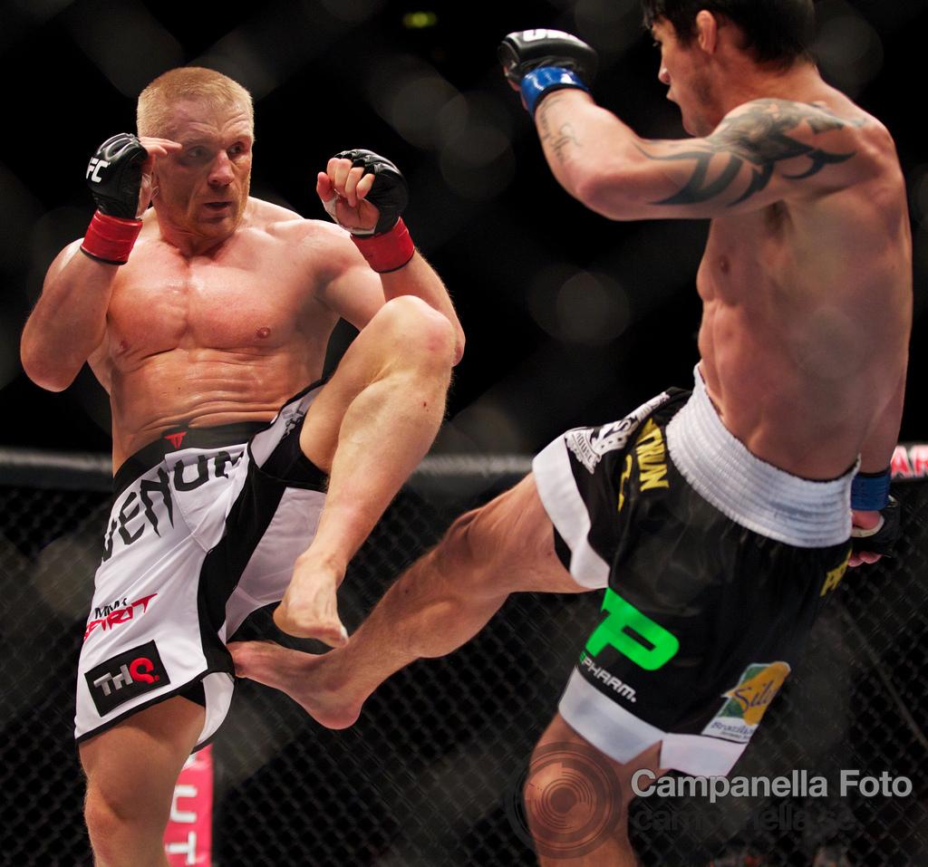 Dennis Siver Vs. Diego Nunes - UFC Fuel - Stockholm, Sweden - 2 of 6