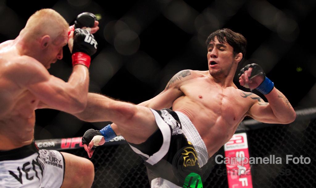 Dennis Siver Vs. Diego Nunes - UFC Fuel - Stockholm, Sweden - 3 of 6