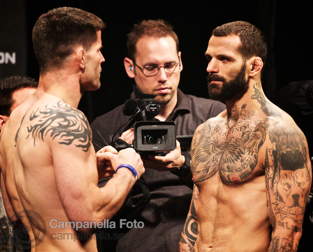 UFC Fuel weigh in at Globen - 6 of 10