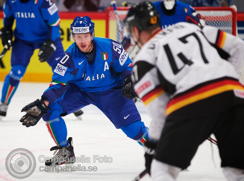 Germany Vs. Italy - 2012 Ice Hockey Word Cup - 2 of 5