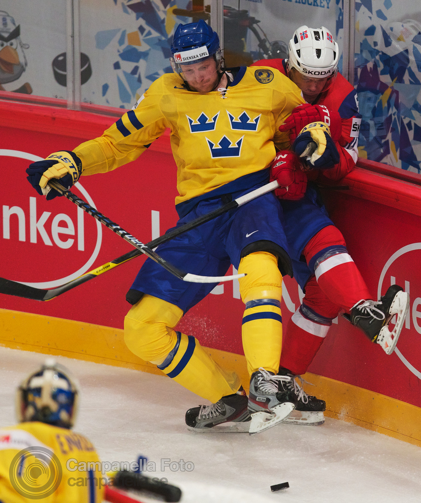 Sweden Vs. Norway - 2012 Ice Hockey World Cup - 1 of 4