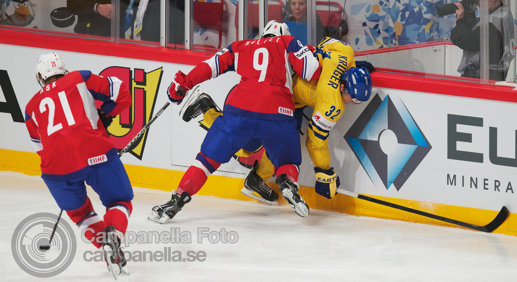 Sweden Vs. Norway - 2012 Ice Hockey World Cup - 3 of 4