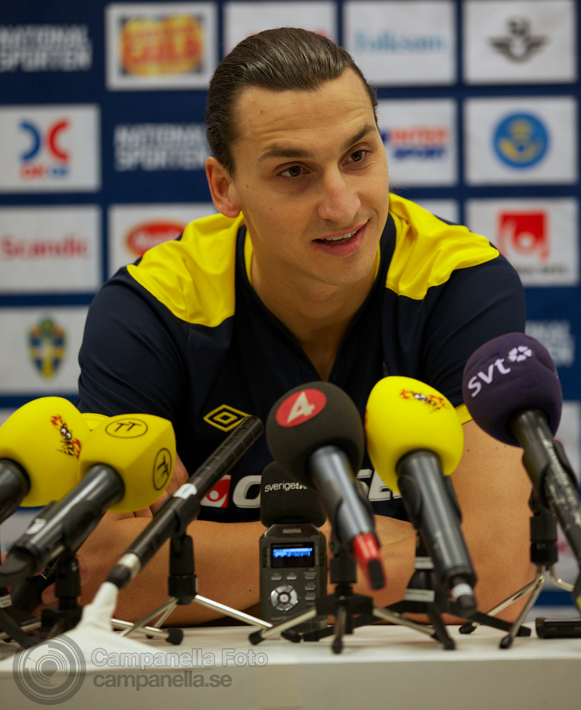 Press conference before Sweden Vs. England - 7 of 9