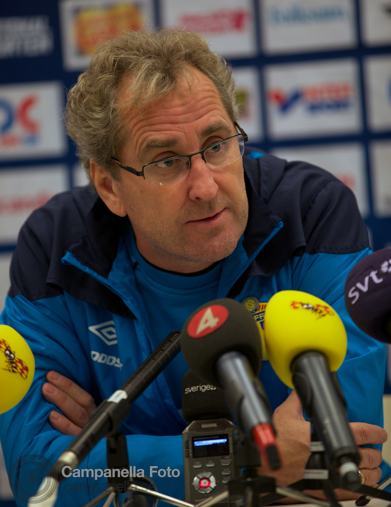 Press conference before Sweden Vs. England - 9 of 9