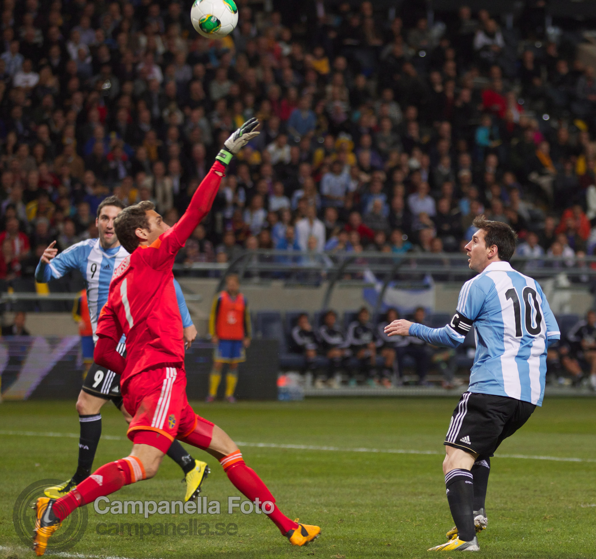 Sweden takes on Argentina - 25 of 35