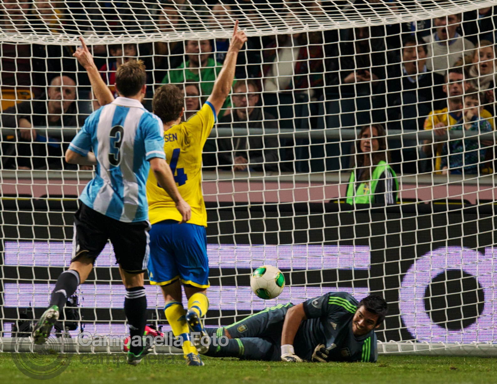 Sweden takes on Argentina - 35 of 35