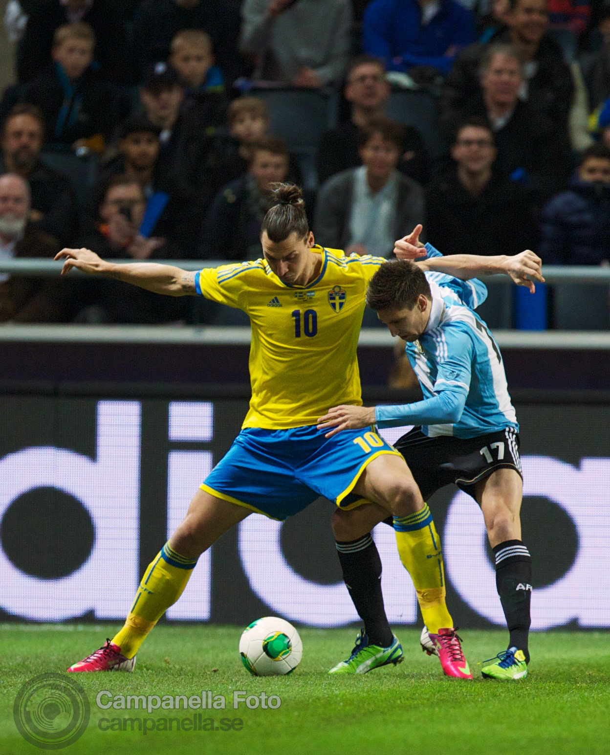 Sweden takes on Argentina - 8 of 35