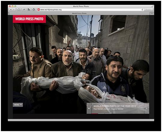 World Press Photo's Photo of the Year 2012
