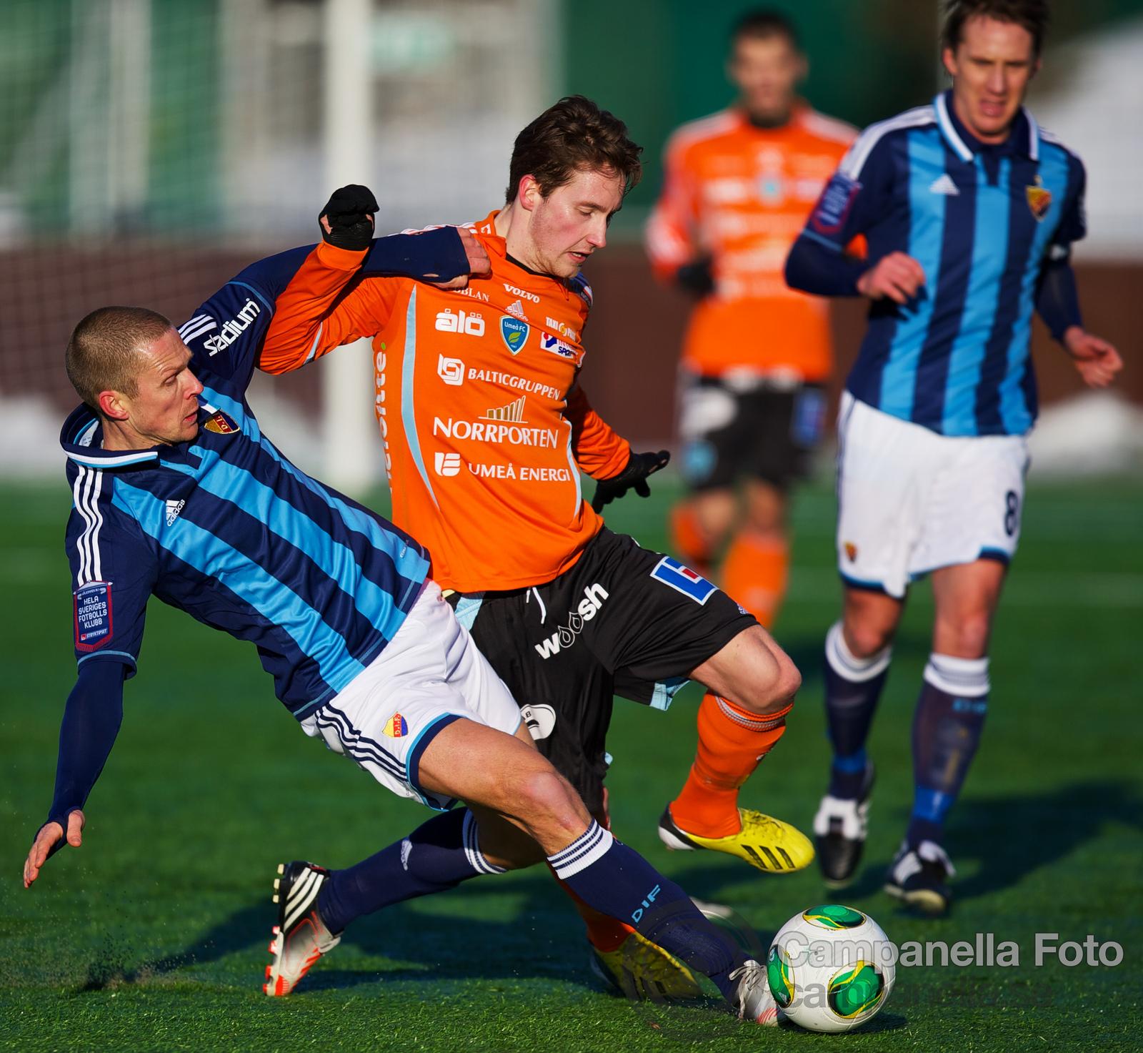 Djurgårdens IF Vs Umeå FC - 2013-03-03 - 3 of 8
