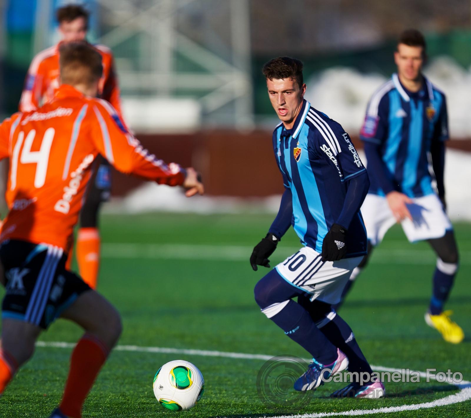 Djurgårdens IF Vs Umeå FC - 2013-03-03 - 7 of 8