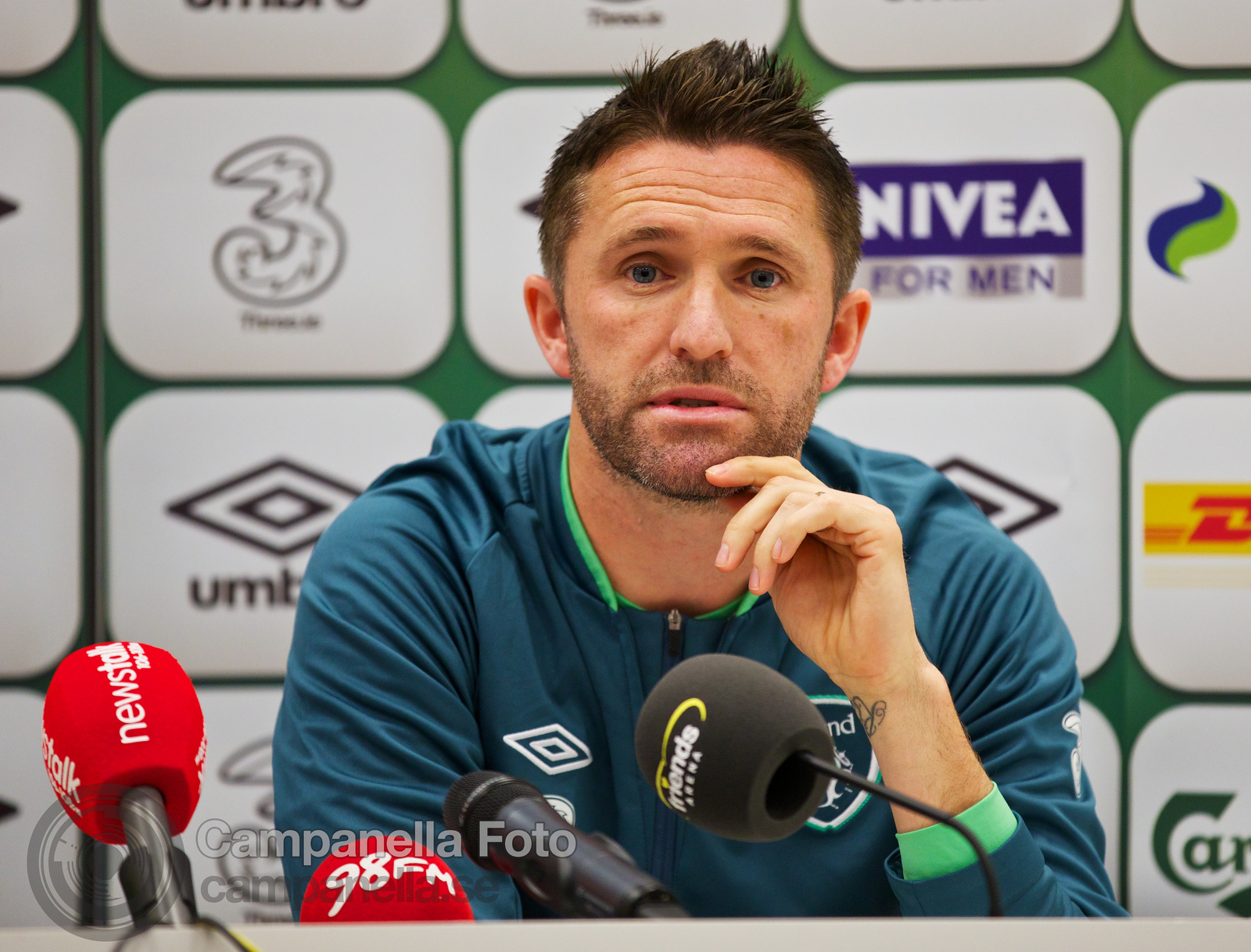 Ireland press conference - 4 of 10