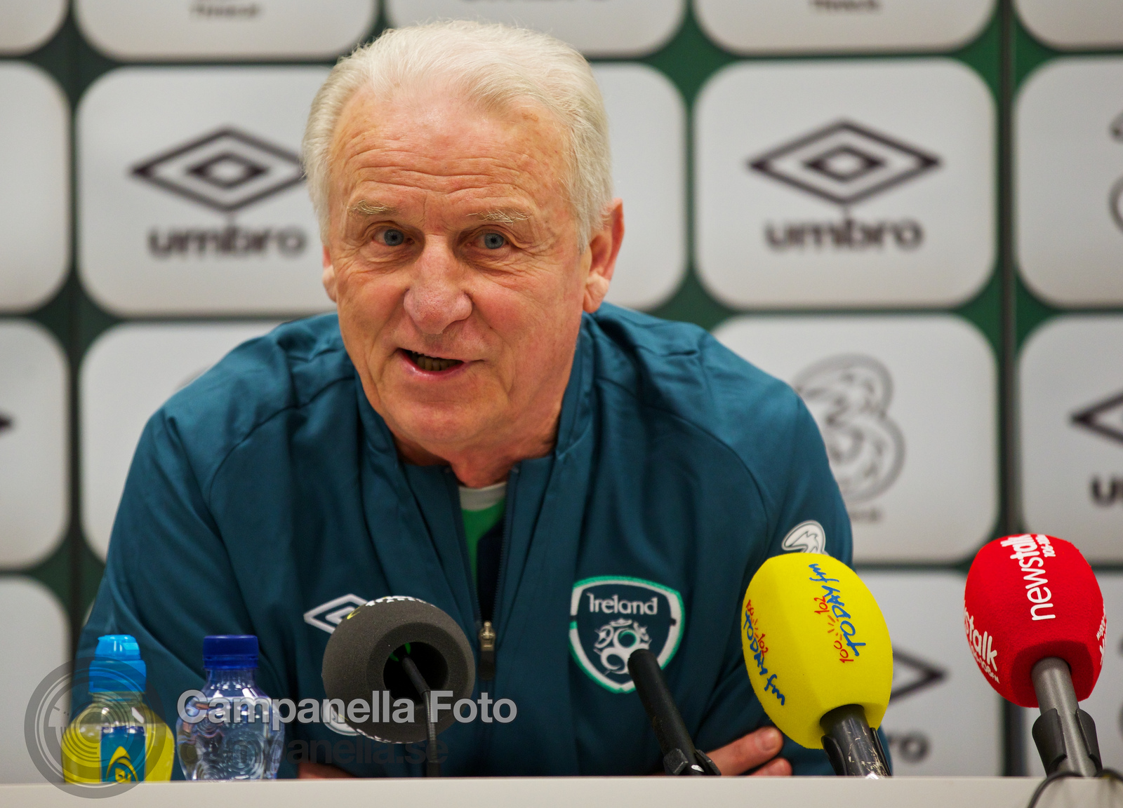 Ireland press conference - 5 of 10