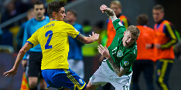 Sweden meets Ireland at Friends Arena