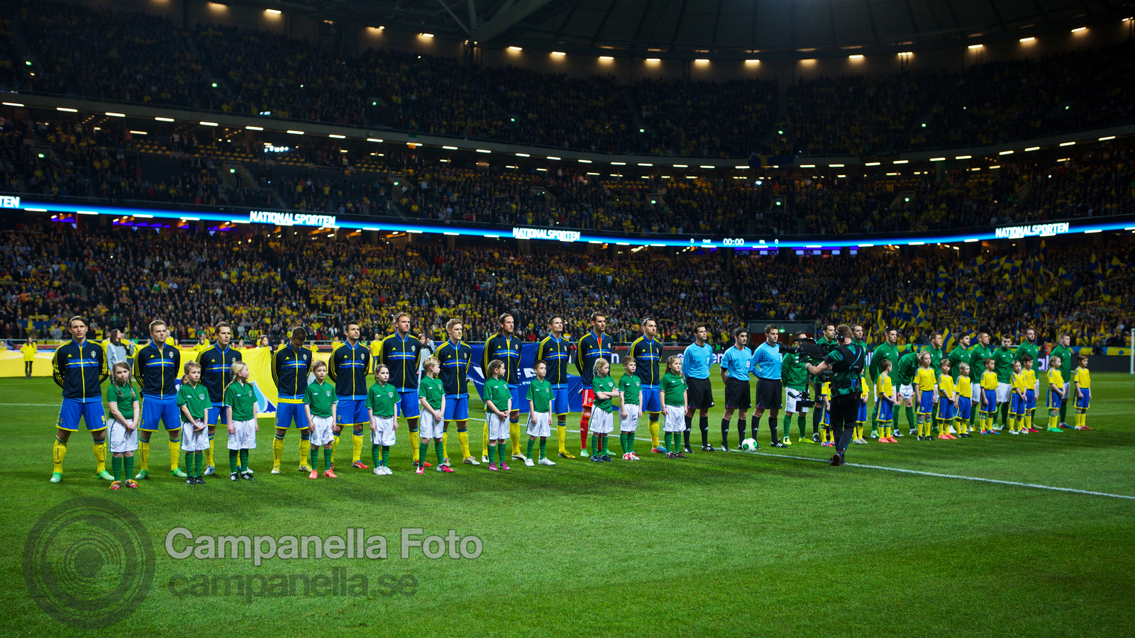 Sweden meets Ireland at Friends Arena - 3 of 20