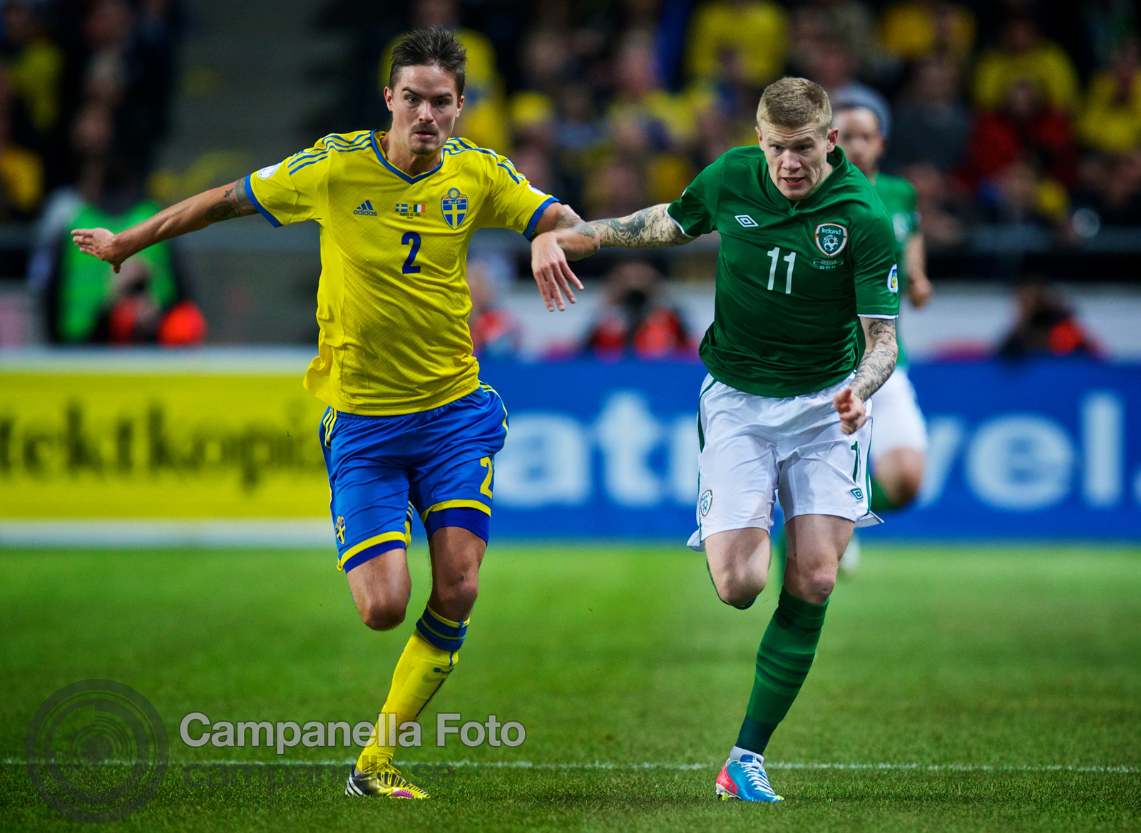 Sweden meets Ireland at Friends Arena - 6 of 20