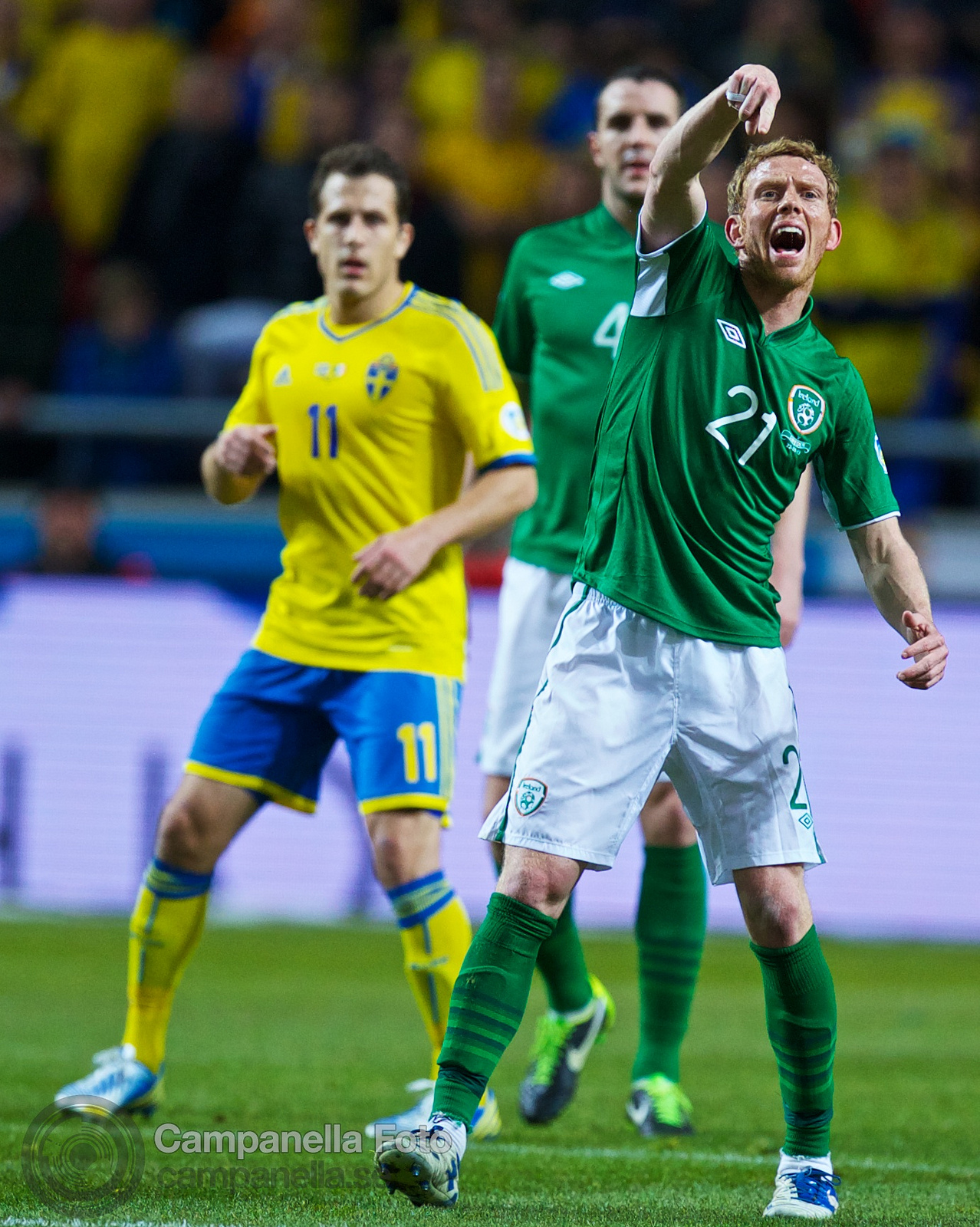 Sweden meets Ireland at Friends Arena - 9 of 20