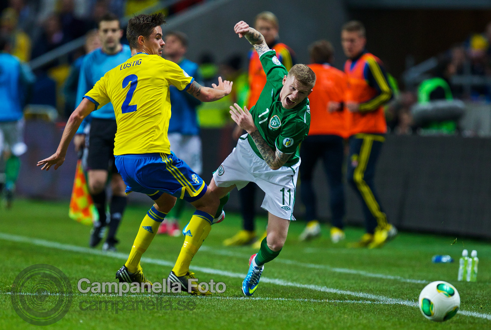 Sweden meets Ireland at Friends Arena - 10 of 20