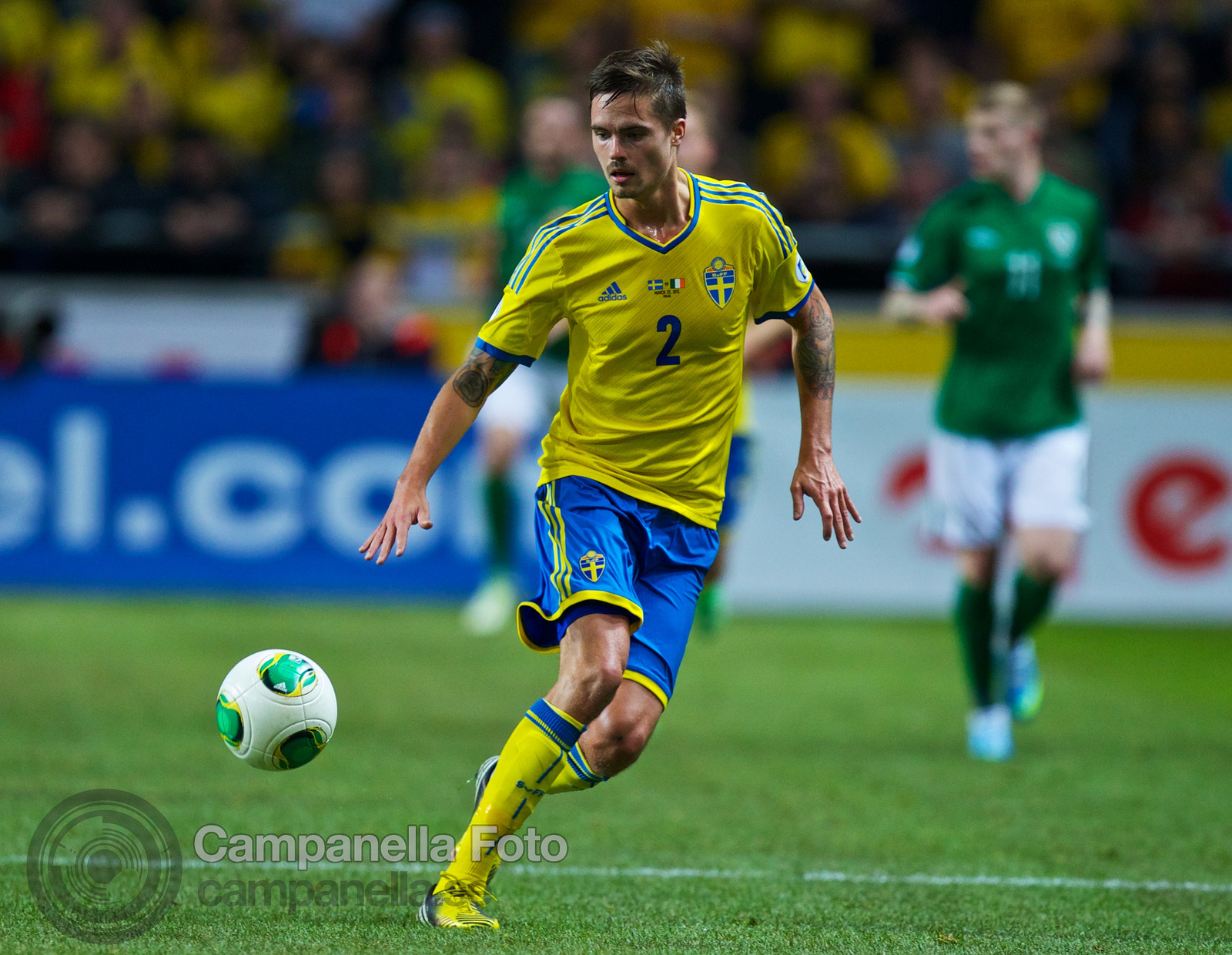Sweden meets Ireland at Friends Arena - 11 of 20
