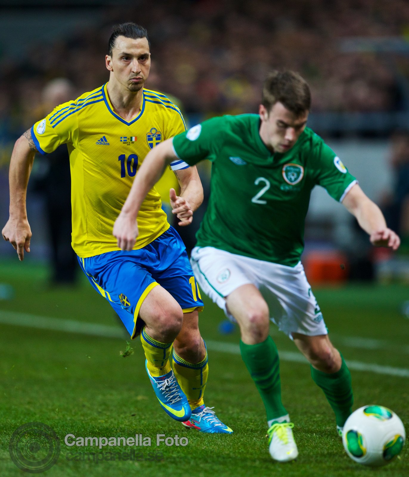 Sweden meets Ireland at Friends Arena - 17 of 20