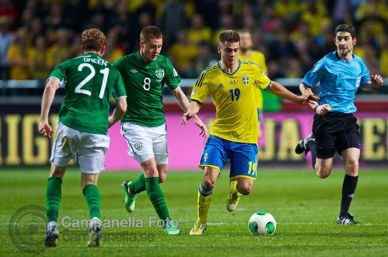 Sweden meets Ireland at Friends Arena - 20 of 20