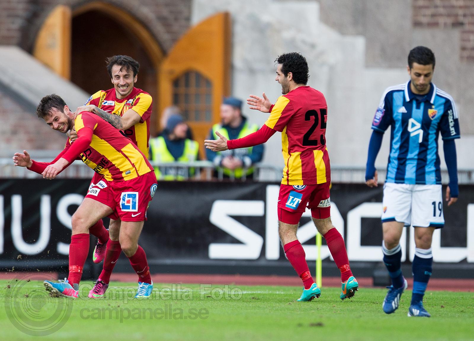 Djurgårdens IF - Syrianska FC - 8 of 9