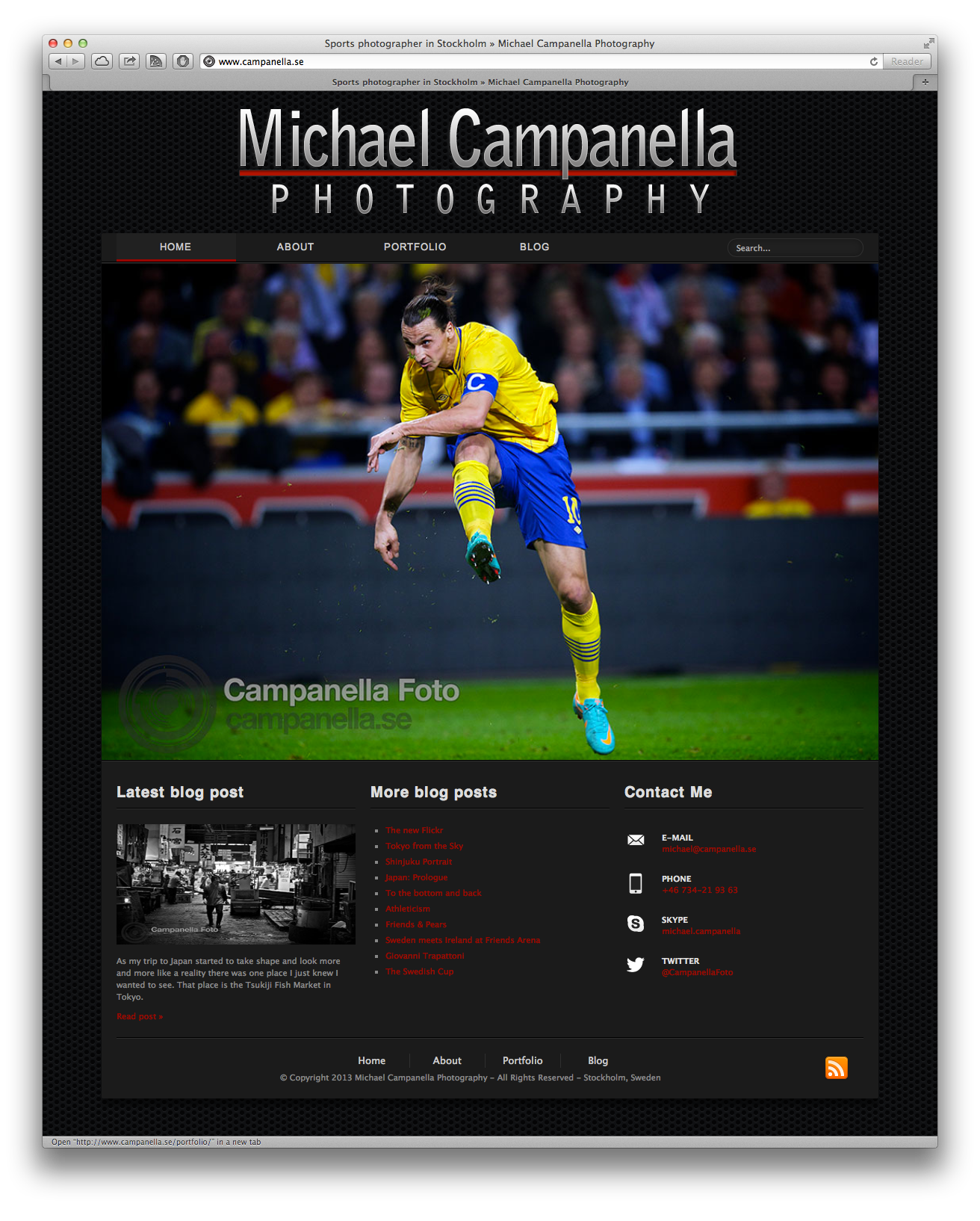 CampanellaFoto - Version 4.0 - Homepage