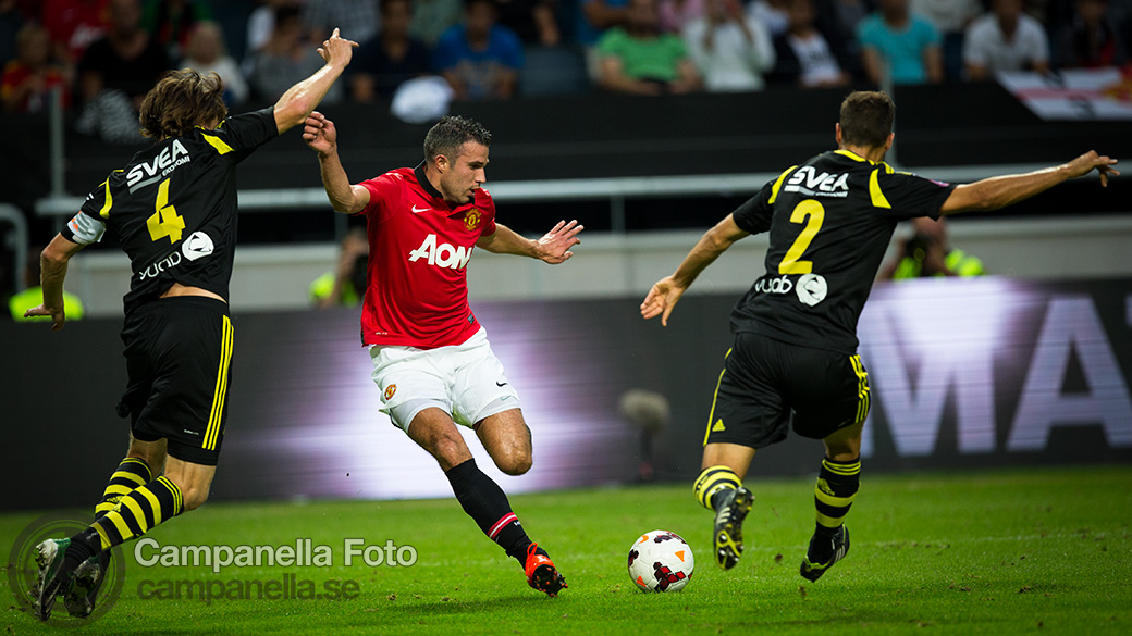Manchester United comes to town - Michael Campanella Photography