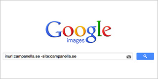 Use Google Image Search to find people hotlinking your images