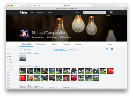 Flickr 4.0 - Camera Roll