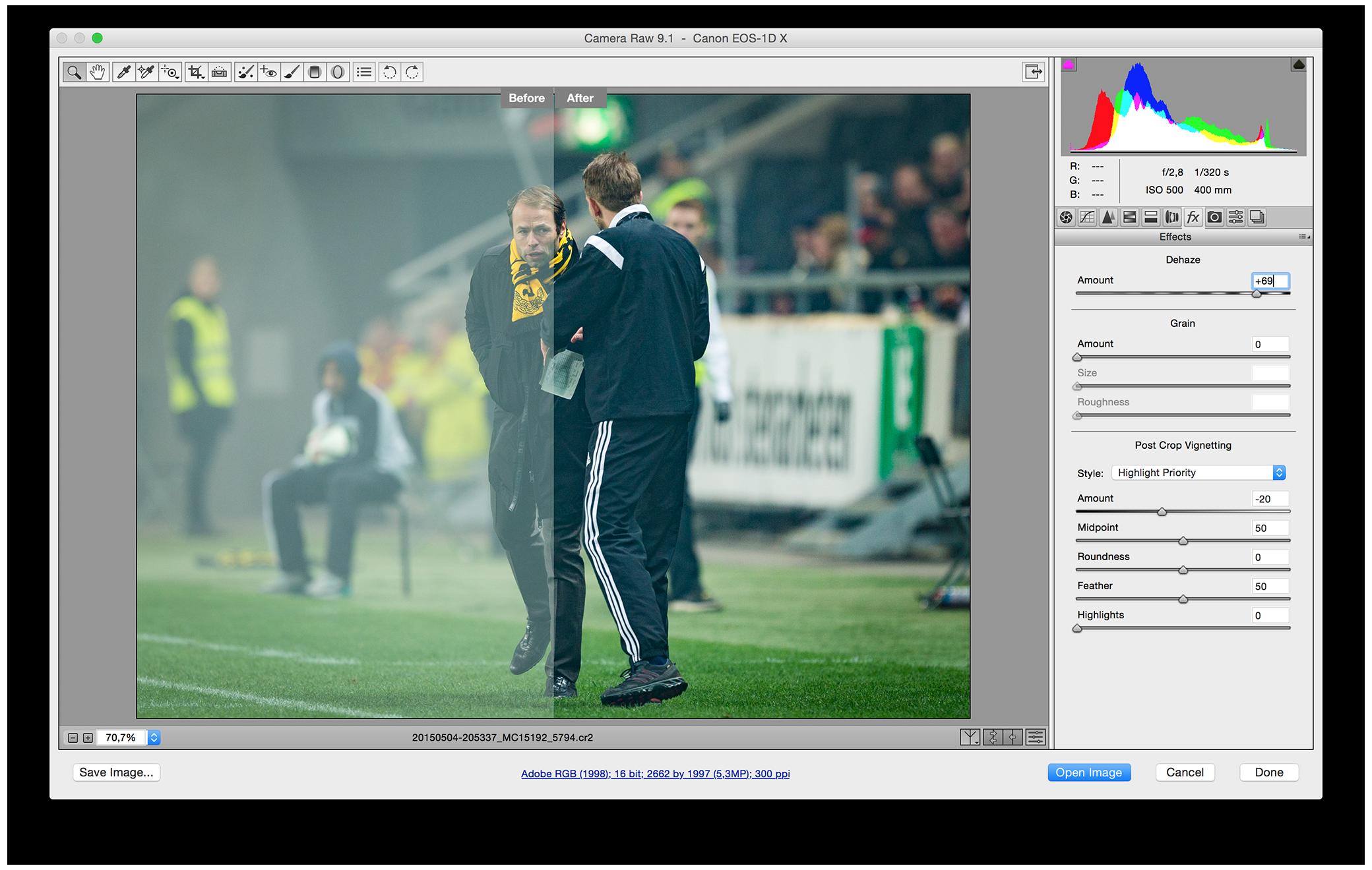 Dehaze tool in Photoshop CC 2015 - Michael Campanella Phtography