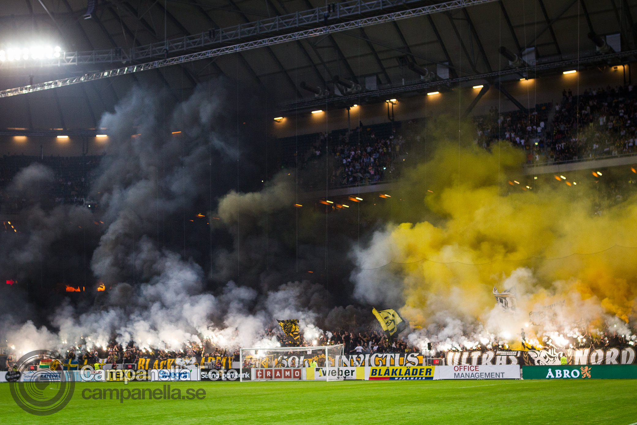 AIK takes the derby - Michael Campanella Photography