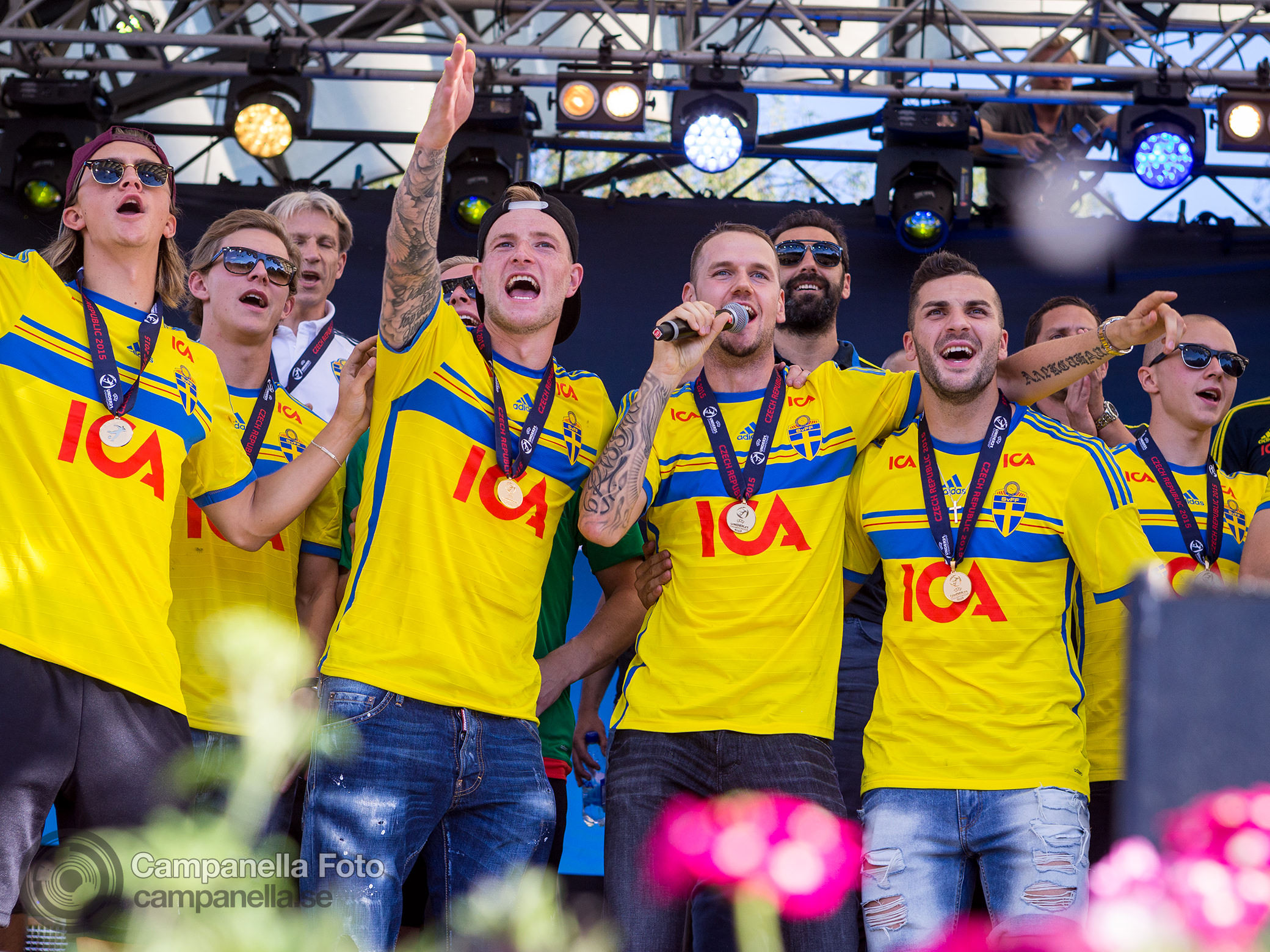 U-21 Euro Celebrations - Michael Campanella Photography