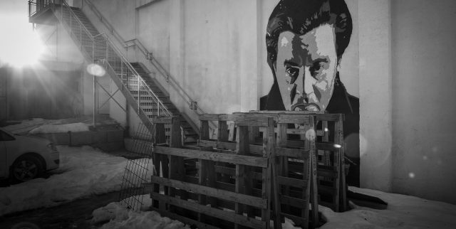 Mural of actor Steven Van Zandt