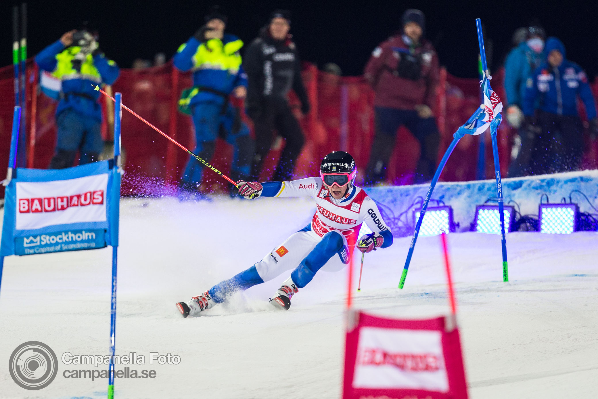 Ski World Cup comes to Stockholm - Michael Campanella Photography
