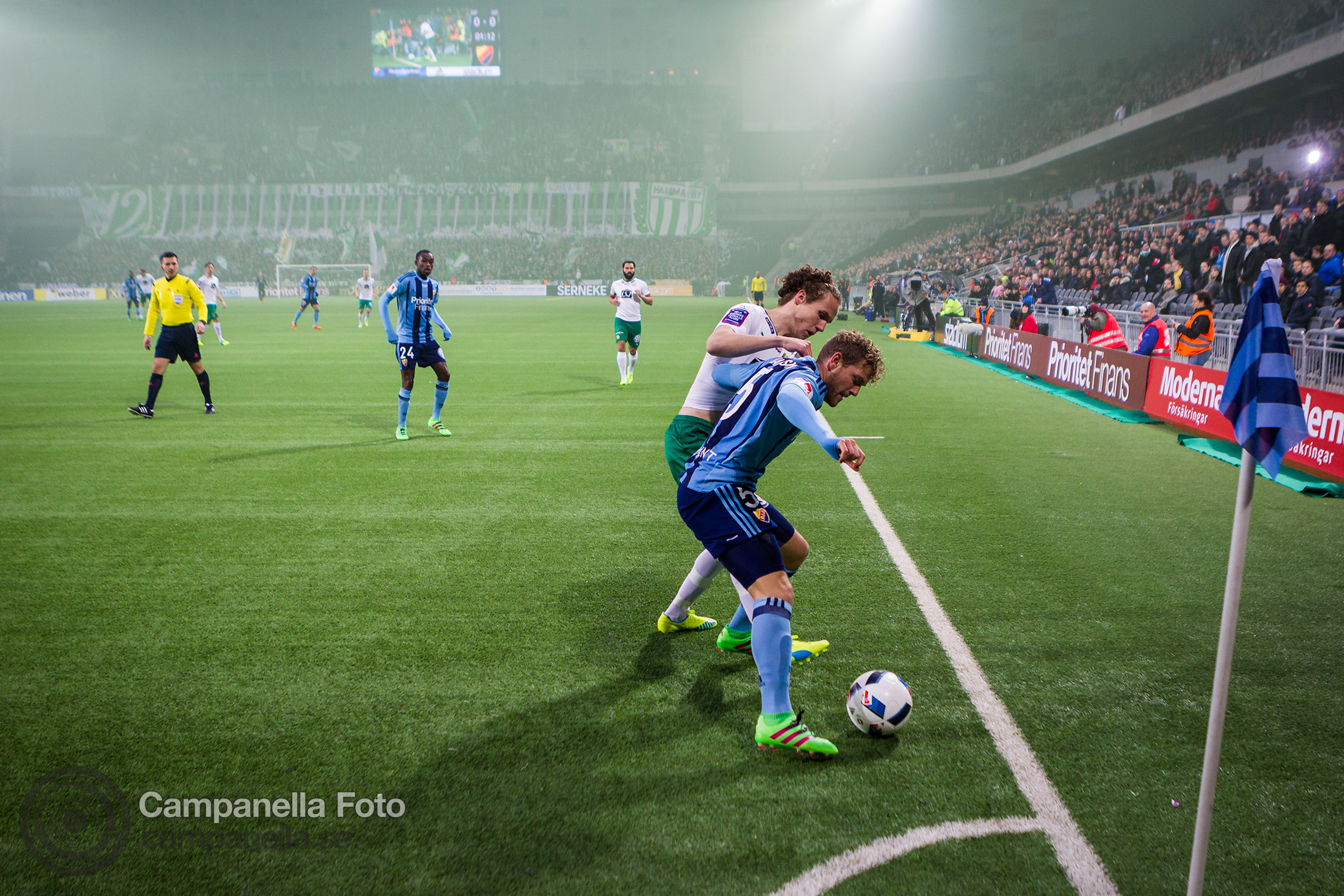 Hammarby takes Swedish Cup Derby - Sports photography Michael Campanella